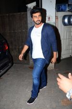 Arjun Kapoor at Aligarh screening in Mumbai on 23rd Feb 2016