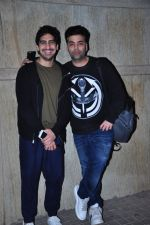 Ayan Mukerji, Karan Johar at Alibaba 2 screening in Mumbai on 23rd Feb 2016