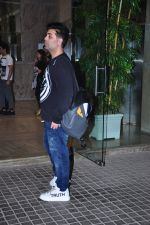 Karan Johar at Alibaba 2 screening in Mumbai on 23rd Feb 2016
