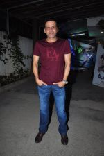 Manoj Bajpai at Aligarh screening in Mumbai on 23rd Feb 2016
