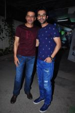 Rajkummar Rao, Manoj Bajpai at Aligarh screening in Mumbai on 23rd Feb 2016