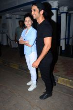 Sushant Singh Rajput, Ankita Lokhande snapped at Villa 69 in Mumbai on 23rd Feb 2016 (5)_56cd63ee5f801.JPG