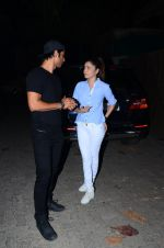 Sushant Singh Rajput, Ankita Lokhande at Aligarh screening in Mumbai on 23rd Feb 2016