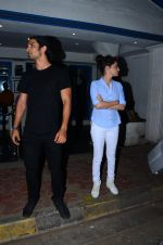 Sushant Singh Rajput, Ankita Lokhande snapped at Villa 69 in Mumbai on 23rd Feb 2016 (3)_56cd63ed20454.JPG
