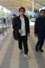 Ali Zafar snapped at airport on 24th Feb 2016