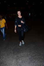 Amy Jackson snapped at international airport on 24th Feb 2016