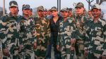 Aishwarya Rai Bachchan spends time with BSF soldiers on 25th Feb 2016