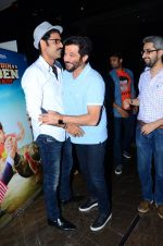Anil Kapoor, Sikander Kher at Bollywood Diaries and Tere Bin Laden 2 screening in Cinepolis on 25th Feb 2016
