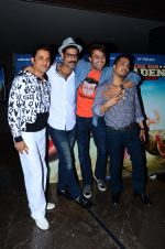 Ganesh Hegde, Sikander Kher, Manish Paul, Mika Singh at Bollywood Diaries and Tere Bin Laden 2 screening in Cinepolis on 25th Feb 2016