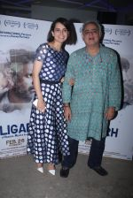 Kangana Ranaut, Bansal Mehta attends Aligarh screening on 25th Feb 2016 (10)_56cffaf2d367e.JPG