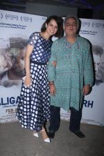Kangana Ranaut, Bansal Mehta attends Aligarh screening on 25th Feb 2016