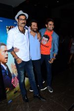 Manish Paul, Anil Kapoor, Sikander Kher at Bollywood Diaries and Tere Bin Laden 2 screening in Cinepolis on 25th Feb 2016