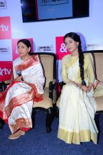 Amrita Rao, Deepti Naval at new tv show launch in Mumbai on 26th Feb 2016 (12)_56d18bbb02161.JPG