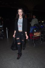 Amy Jackson snapped at international airport on 26th Feb 2016