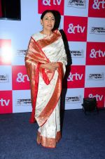 Deepti Naval at new tv show launch in Mumbai on 26th Feb 2016