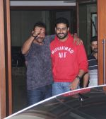 Sanjay Dutt snapped with Abhishek Bachchan at Sanjay Dutt_s House on 27th Feb 2016 (6)_56d2c41a0d826.JPG