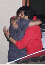Sanjay Dutt snapped with Abhishek Bachchan at Sanjay Dutt_s House on 27th Feb 2016 (10)_56d2c41bf3e0a.JPG
