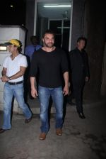 Sohail Khan snapped outside Anu Dewan_s house on 27th Feb 2016 (3)_56d2c3f8cb68d.JPG