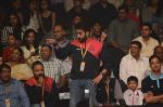 Abhishek Bachchan and Amitabh Bachchan at prokabaddi match on 28th Feb 2016 (40)_56d53c11050ac.JPG
