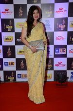 Alka Yagnik at radio mirchi awards red carpet in Mumbai on 29th Feb 2016