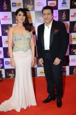 Govinda, Tina Ahuja at radio mirchi awards red carpet in Mumbai on 29th Feb 2016 (188)_56d59e34cde99.JPG