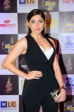 Kanika Kapoor at radio mirchi awards red carpet in Mumbai on 29th Feb 2016