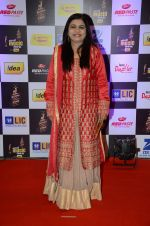 Sadhana Sargam at radio mirchi awards red carpet in Mumbai on 29th Feb 2016