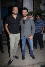 Atul Kasbekar, Shekhar Ravjiani at Neerja party in Olive on 1st March 2016