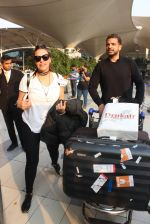 Neha Dhupia snapped at airport on 1st March 2016