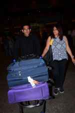 Omung Kumar snapped at airport on 1st March 2016