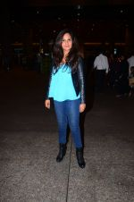 Richa Chadda snapped at airport on 1st March 2016