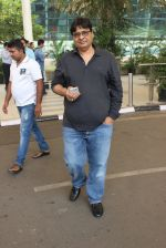Vashu Bhagnani snapped at airport on 1st March 2016