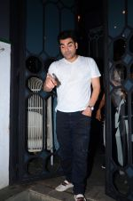 Arbaaz Khan at dinner party in Mumbai on 2nd March 2016