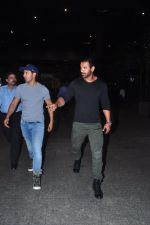 John Abraham and Varun Dhawan return from Abu Dabhi schedule on 2nd March 2016