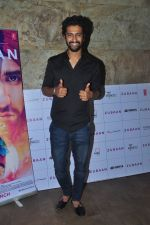 Vicky Kaushal at Zubaan screening on 2nd March 2016