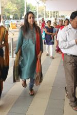 Hema Malini snapped at airport on 3rd MArch 2016