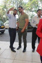 John Abraham snapped at airport on 3rd MArch 2016