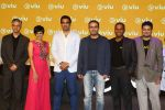 Mandira Bedi, Zaheer Khan, Virender Sehwag at VIU streaming launch on 3rd March 2016