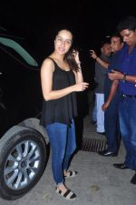 Shraddha Kapoor snapped on occasion of her bday with fans on 3rd March 2016