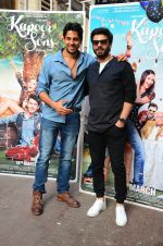 Sidharth Malhotra, Fawad Khan at Kapoor N Sons promotions at Johar