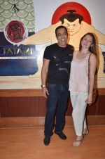 vindu dara singh with wife at Tatami restaurant launch hosted by Neha Premji and Shivam Hingorani on 3rd March 2016 (2)_56d9aaa7e74c2.JPG