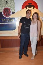 vindu dara singh with wife at Tatami restaurant launch hosted by Neha Premji and Shivam Hingorani on 3rd March 2016 (3)_56d9aaaa3f13c.JPG