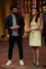 Alia Bhatt, Fawad Khan at Kapoor N Sons promotions on Comedy Bachao on 4th March 2016
