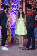 Alia Bhatt, Sidharth Malhotra, Fawad Khan at Kapoor N Sons promotions on Comedy Bachao on 4th March 2016