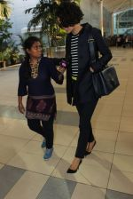 Kangana Ranaut snapped at airport on 4th March 2016