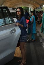 Mira Rajput snapped at airport on 4th March 2016 (42)_56da44e864543.JPG