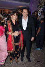 Parmeet Sethi, Archana Puran Singh at Kresha Bajaj_s wedding reception on 4th March 2016 (19)_56daf3e7a105a.JPG