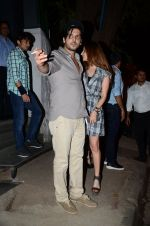 Zayed Khan and Suzanne kHan snapped in Mumbai on 5th March 2016 (6)_56dc1c1707340.JPG