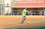 Dino Morea at soccer match on 6th March 2016