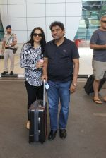 Johnny Lever snapped at airport on 6th March 2016